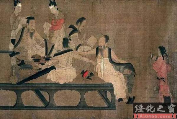 """""""宋元绘画"""":考《晋文公复国图》是否出自李唐"""